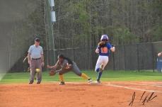 AJ vs Lancaster JV and V softball 43180243