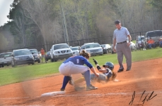 AJ vs Lancaster JV and V softball 43180469