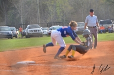AJ vs Lancaster JV and V softball 43180479