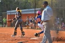 AJ vs Lancaster JV and V softball 43180550