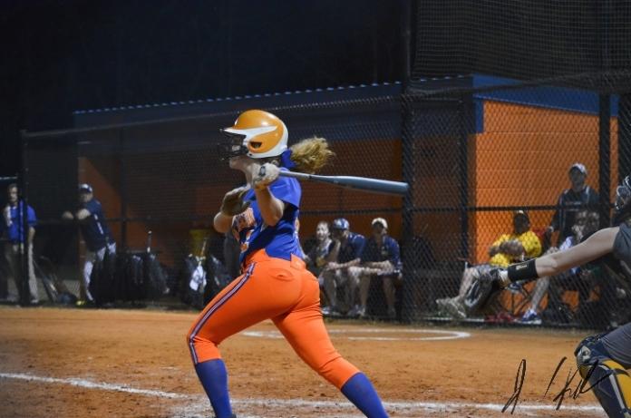 AJ vs Lancaster JV and V softball 43181416